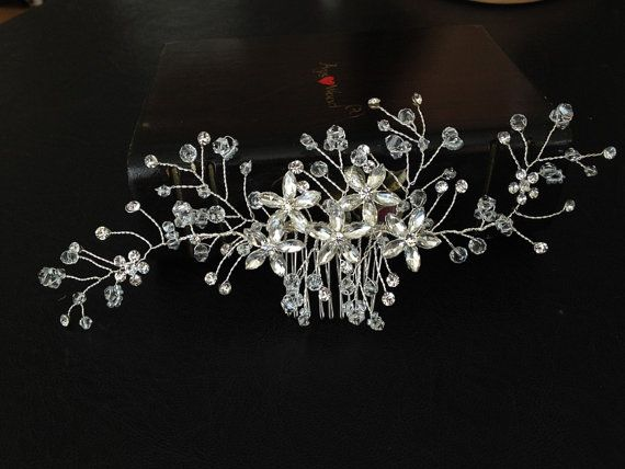 Wedding Headband Bridal Hair Accessories Wedding by alarasstore