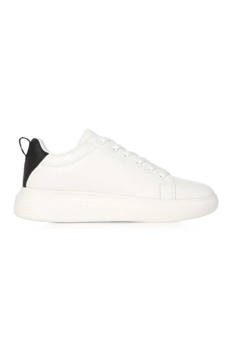 White Chunky Sole Trainer | PRIMARK in