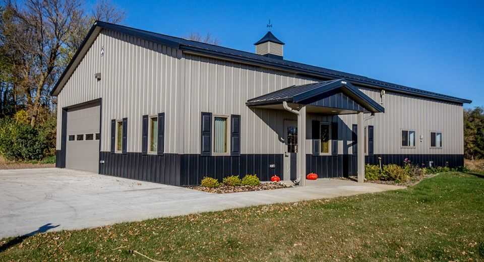 Morton Buildings Use Clear Span Construction To Offer Open