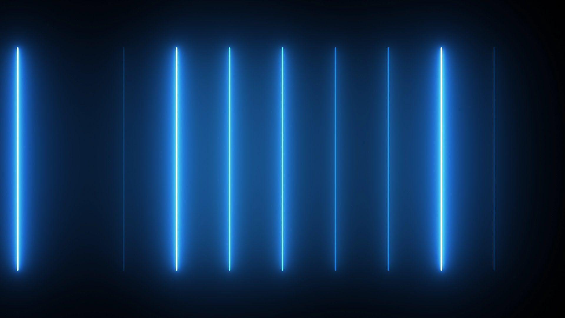 Electric blue neon neon wallpaper