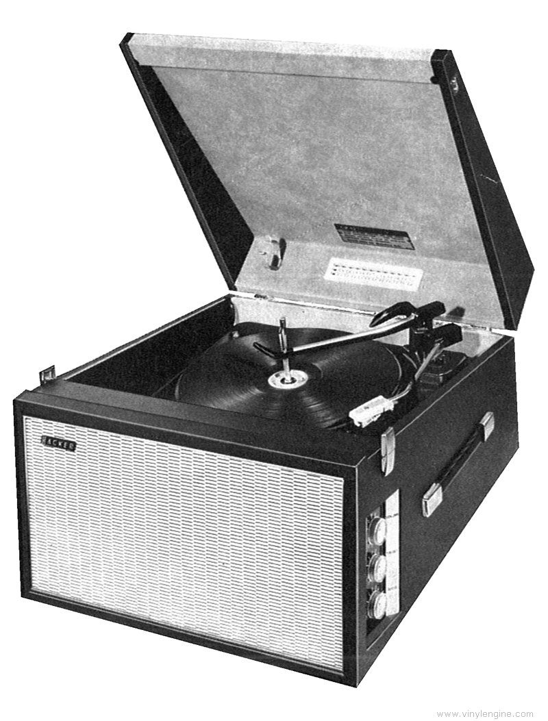 £75 + VAT Audio Gold Lond N8 1969 Hacker Gondolier gp42 Record Player