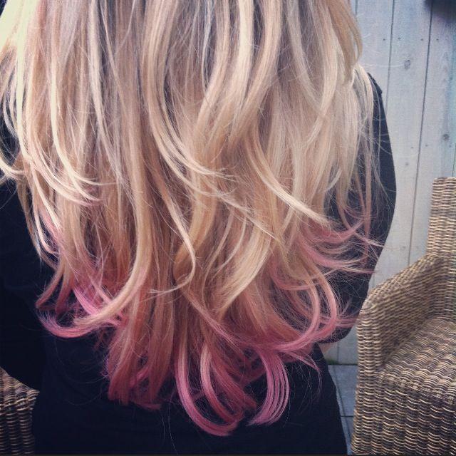 Hair Haare Peinados Dip Dye Hair Blonde Dipped Hair Dip Dye Hair