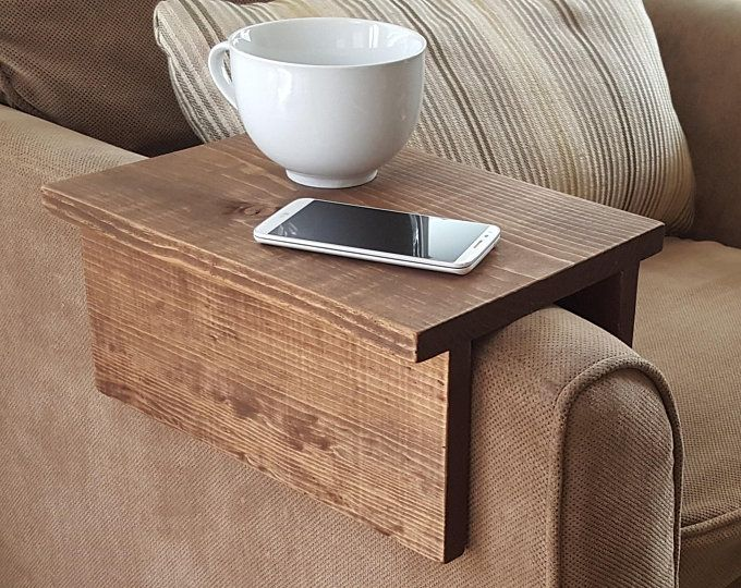 Pleasant Sofa Chair Arm Rest Tray Table Stand With Side Storage Slot Machost Co Dining Chair Design Ideas Machostcouk