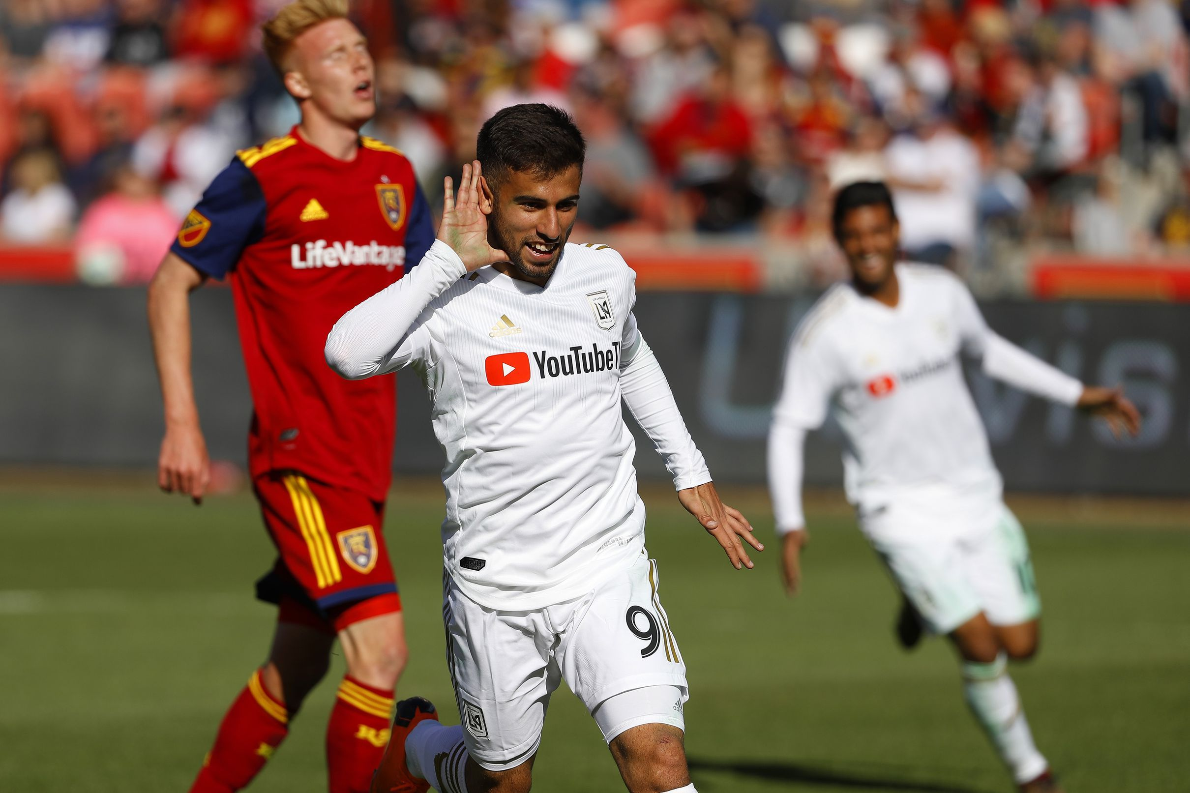Lafc Forward Diego Rossi Voted Mls Player Of The Week Angels On Parade Los Angeles Football Club Professional Soccer Major League Soccer