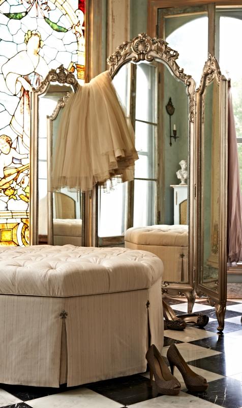 Elle Trifold Floor Mirror Suite Inspiration Floor