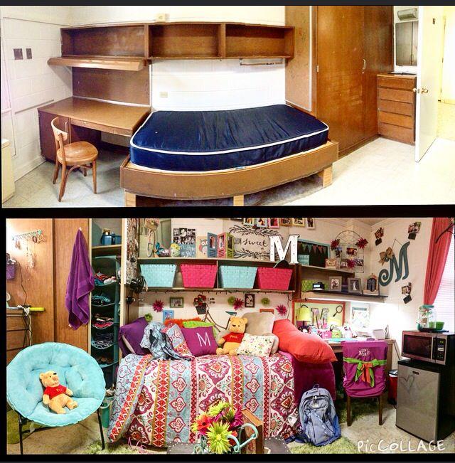 Carson Newman University Burnett Hall Dorm Room Dorm
