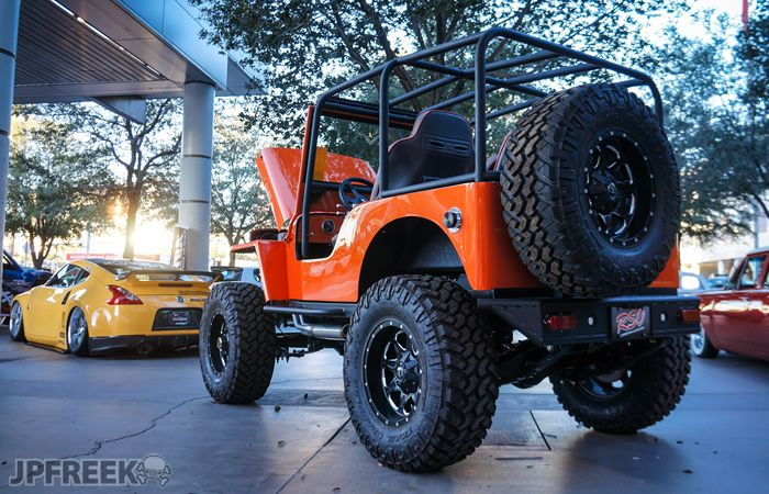 Man This Willys With A Super Bad Ass Roll Cage At Last
