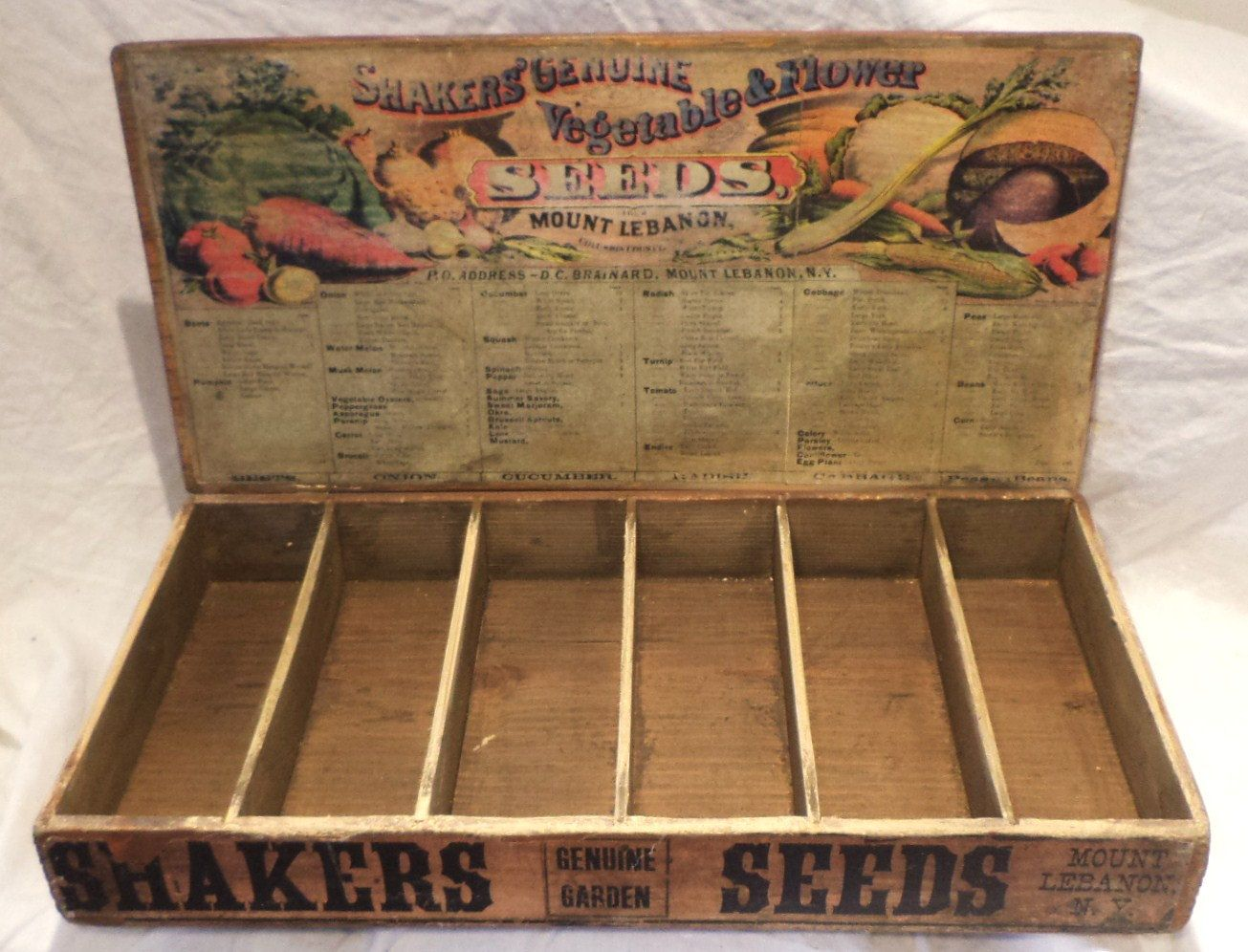 Shaker <b>Seed</b> <b>Box</b>, <b>Vintage</b> <b>Seed</b> Packet ...