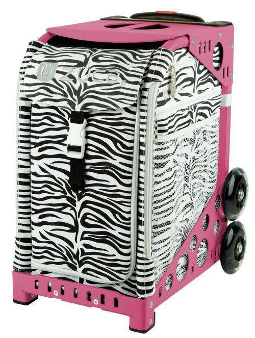Zuca Sport Bag - ZEBRA with Pink Frame