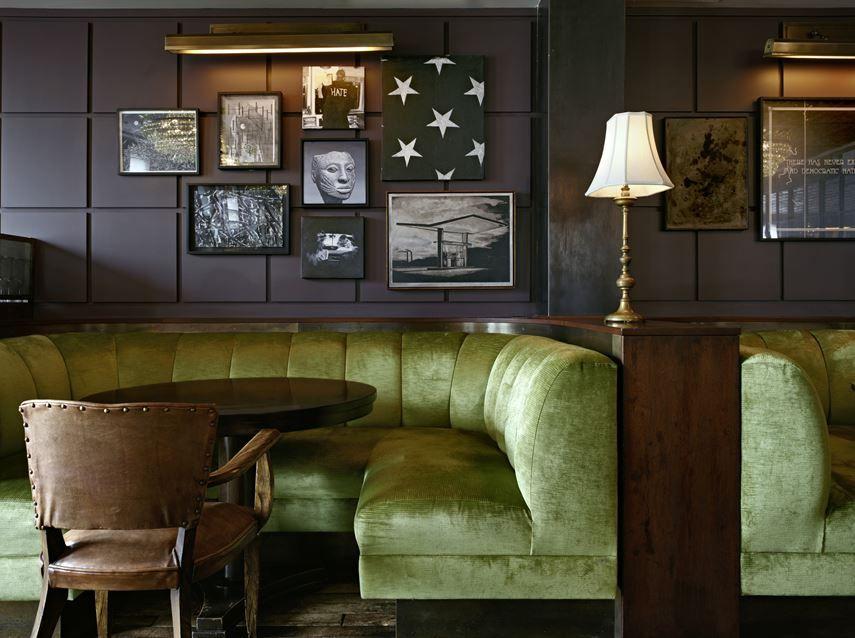 Soho House New York Picture Gallery Interieur De Restaurant Siege De Banquettes Deco