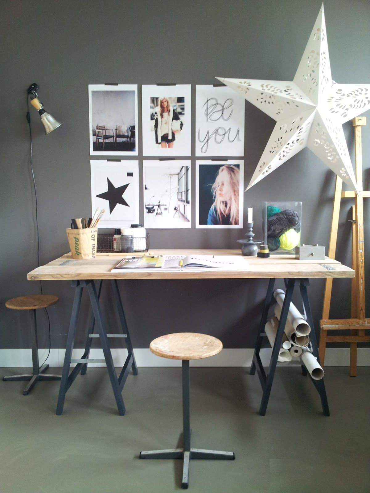 Different Ideas For Creative Space But I Quite Like