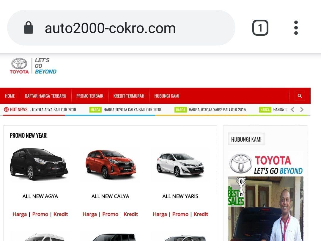 Bayu Pradana Site Jasa Website Dan Jasa Seo Bali Di 2020 Toyota Bali Website