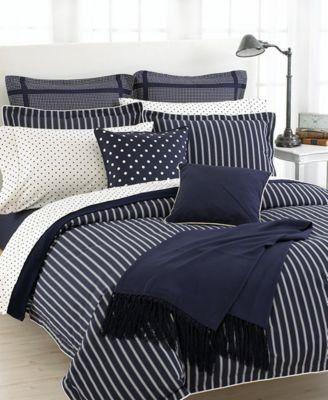 Lauren Ralph Lauren Barrymore Deco Dot Pillowcases Standard Deco Dot By Ralph Lauren 34 99 Standard Size Cream Pillow Bed Navy Duvet Covers King Pillows
