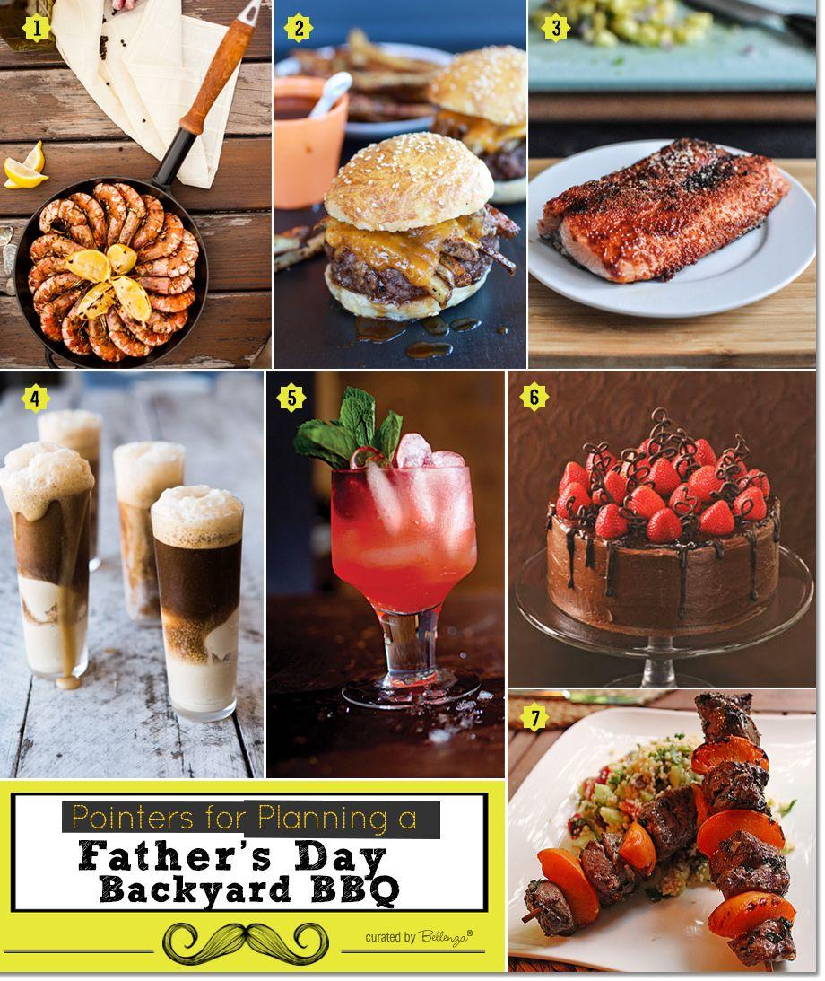 Food Fathers Day BBQ Menu Ideas
