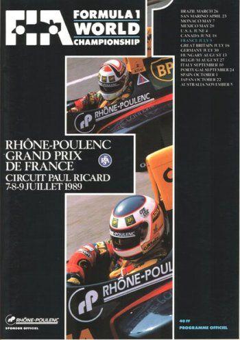 1989 • STATS F1 Anni 70