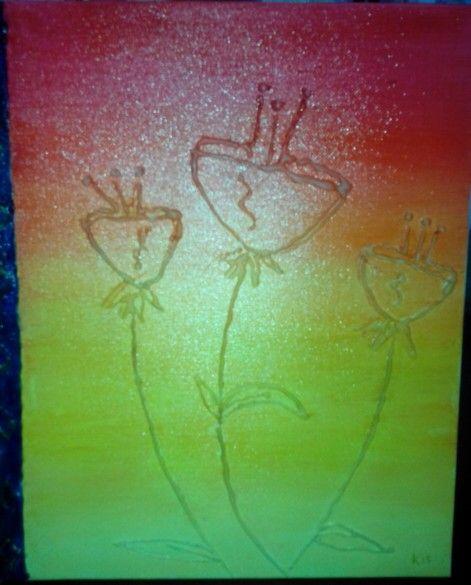 Canvas,oleo y silicón.