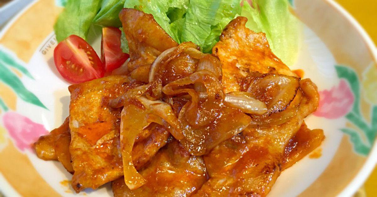 豚 ロース 生姜 焼き 用 レシピ