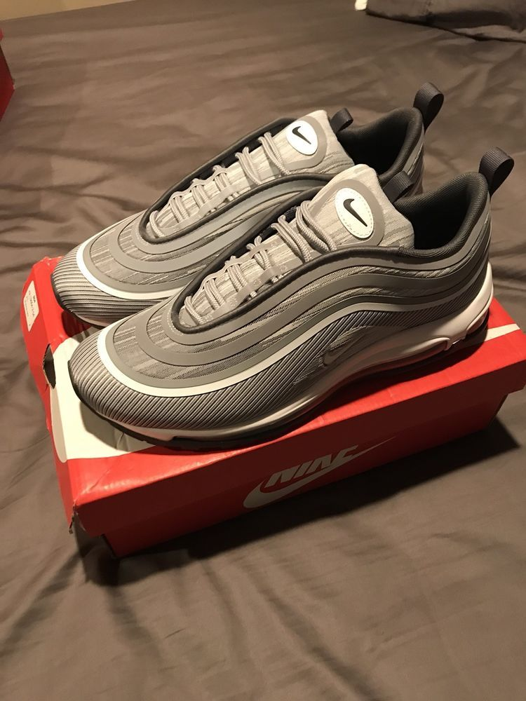 7b7bca789e Nike Air Max 97 Ultra 17 Wolf Grey Dark Grey Brand New Size 10.5 #fashion # clothing #shoes #accessories #mensshoes #athleticshoes (ebay link)