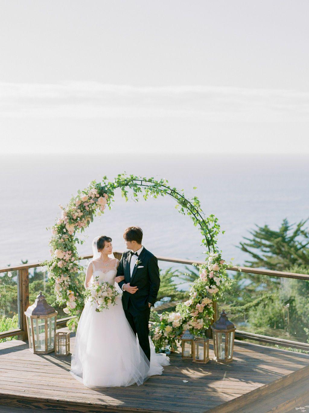 Wedding Ceremony At Hyatt Carmel Highlands Event Planning Styling Design Manna Sun Events Photographer Stella Event Planning Wedding Ceremony Wedding
