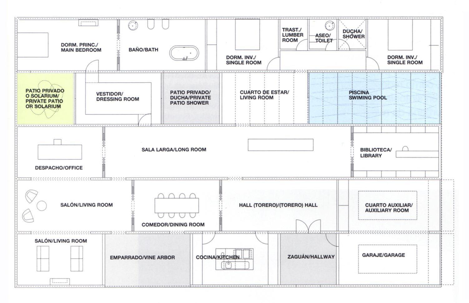 Grid No Corridors No Open Floor Casa Mora By Abalos Y Herreros