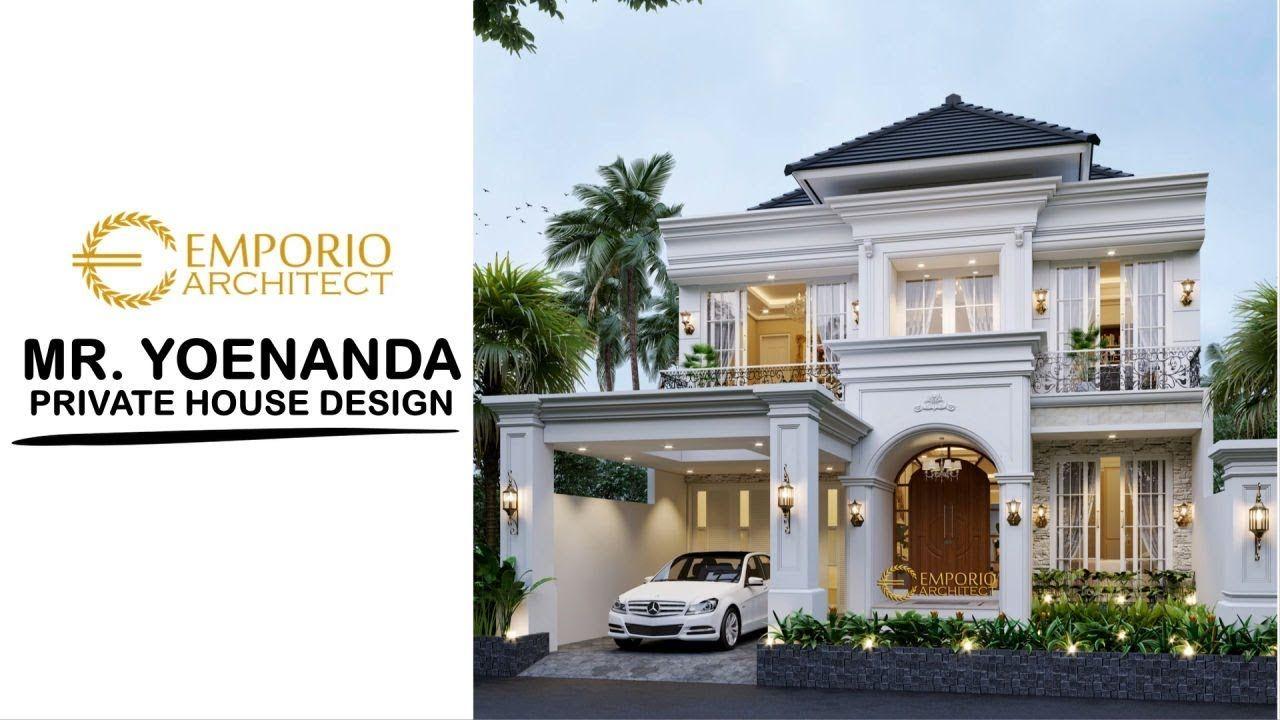 Mr Yoenanda Mediteran House 2 Floors Design Aceh In 2020 Classic House Exterior Classic House Design House Design