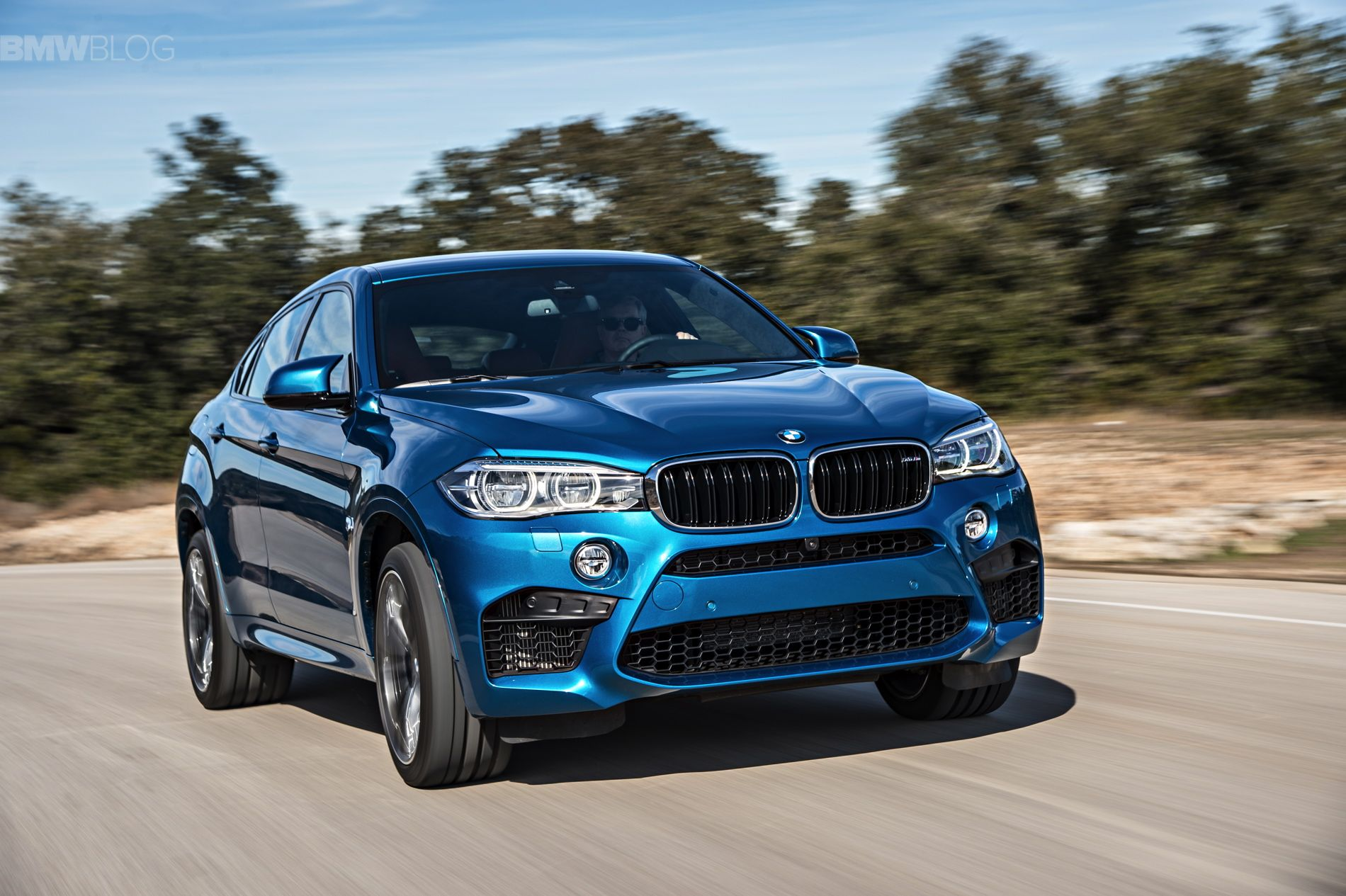 Justin bell drives the new bmw x6 m http www bmwblog
