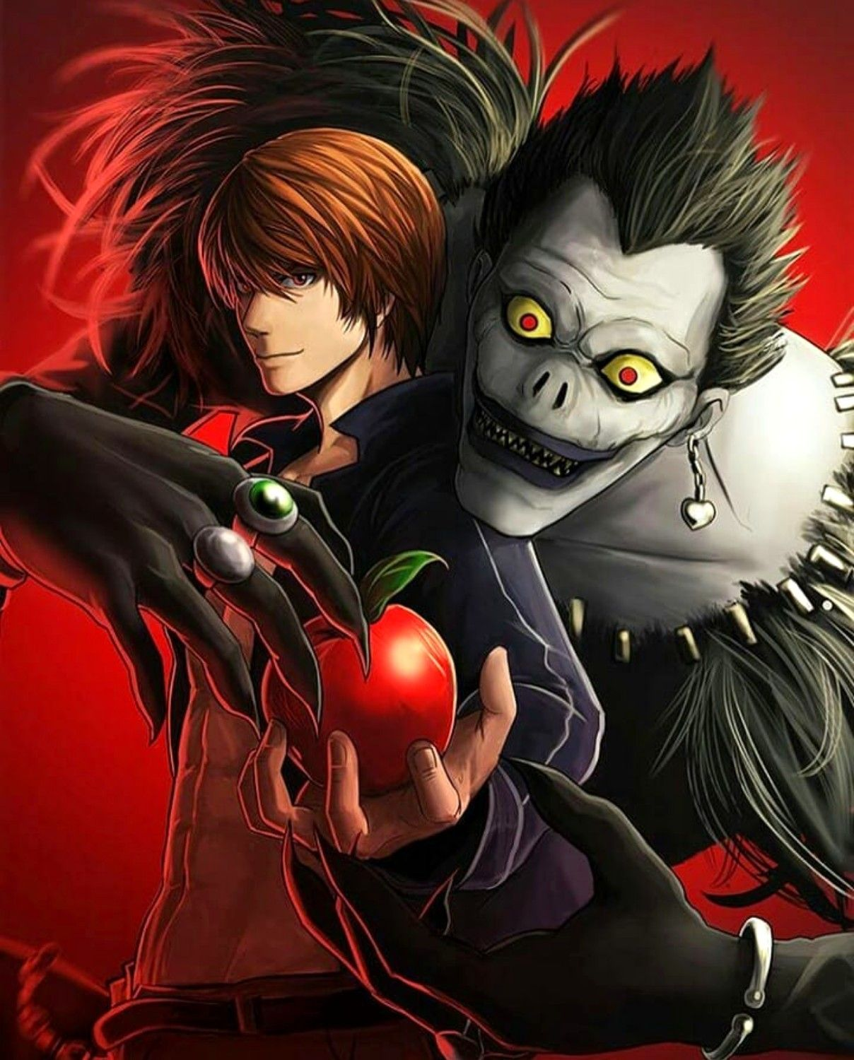 Light Yagami Ryuk Personagens de anime, Anime, Filmes
