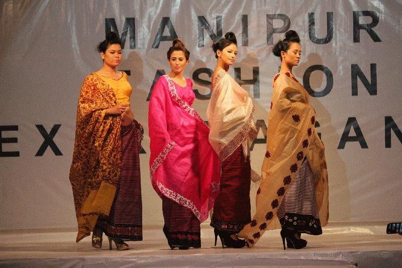 Manipuri fashion dresses
