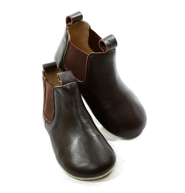 Skeanie Infant Riding Boot - Chocolate