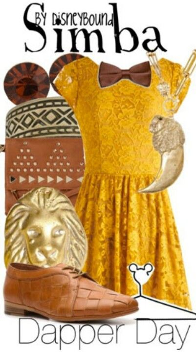 Simba by DisneyBound (I would change the shoes though!)