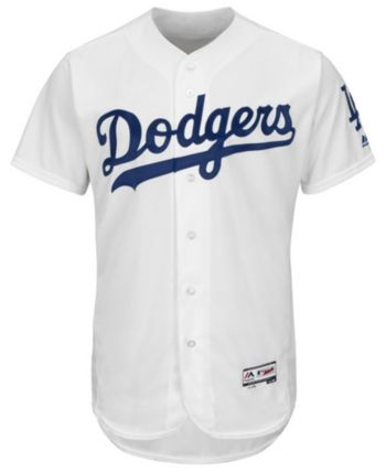 5eb09c782 Majestic Men s Los Angeles Dodgers Flexbase On-Field Jersey - White 48