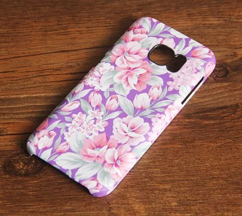 Violet Pink Samsung Galaxy S7 Edge/S7/S6 Edge Plus/S6 Edge/S6/S5/S4/Note 5/Note 4/Note 3 Case #417 - Acyc - 1