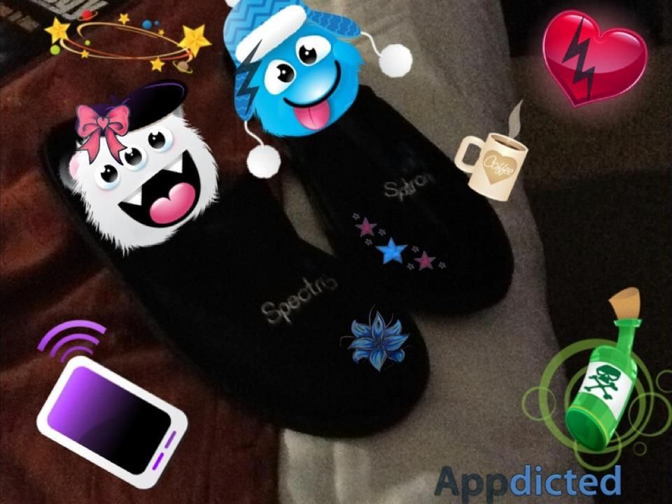 Time for a cosy nights sleep in our Spectronics slippers!! by Lucinda Sgro