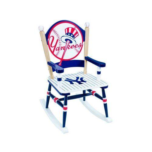 """Guidecraft G11113 MLB - Yankees Furniture, Rocking Chair ( 23.00"""" L x 18.00"""" W x 29.00"""" H ) GuideCraft,http://www.amazon.com/dp/B00286D2FO/ref=cm_sw_r_pi_dp_XfTvtb0Y9AH9DMMS"""