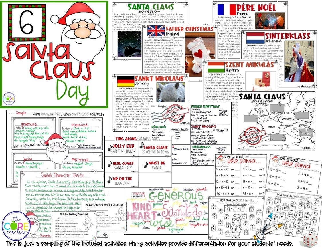 12 Day Christmas Activities In The Classroom The Core Coaches Classroom Christmas Activities Christmas Math Activities Preschool Christmas Activities [ 869 x 1125 Pixel ]