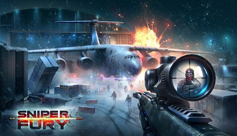 download game sniper fury top shooting game fps mod apk