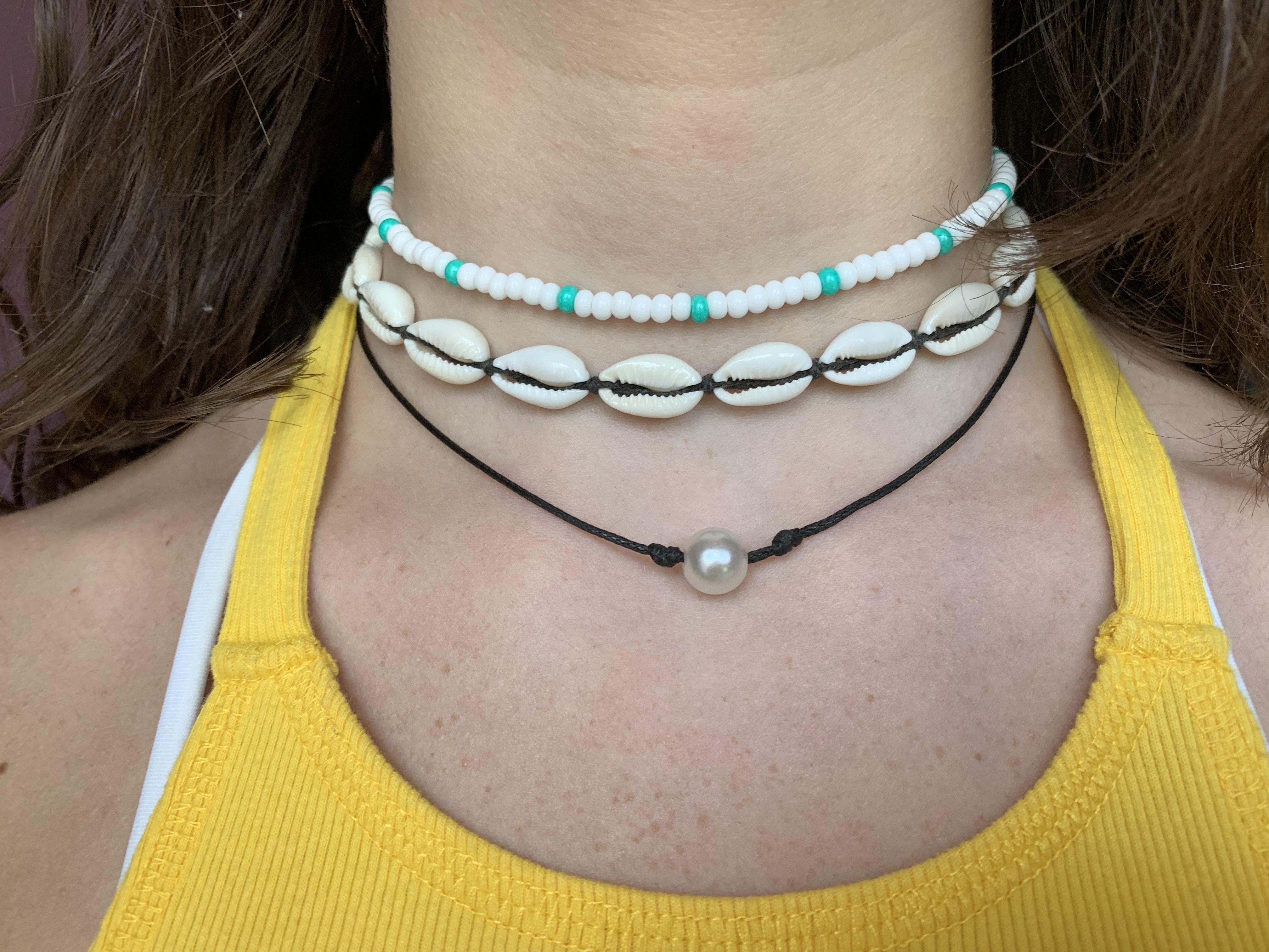 Thanksgiving Seed Bead Choker VSCO Trendy Necklace