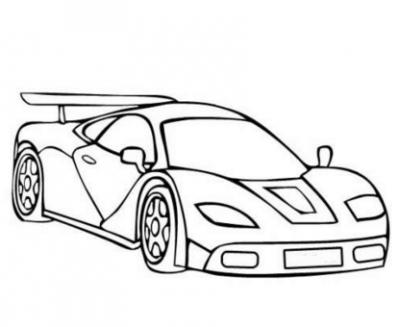 Dibujos De Coches Deportivos Para Colorear  Autos Hermosos De
