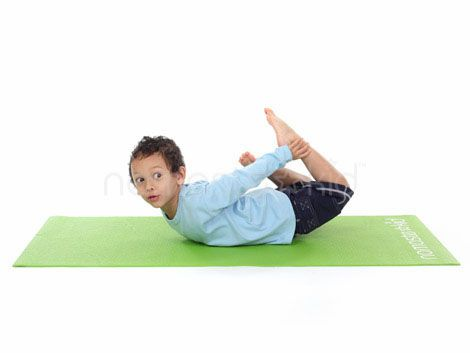 floor bow  kids yoga poses yoga for kids exercise for kids