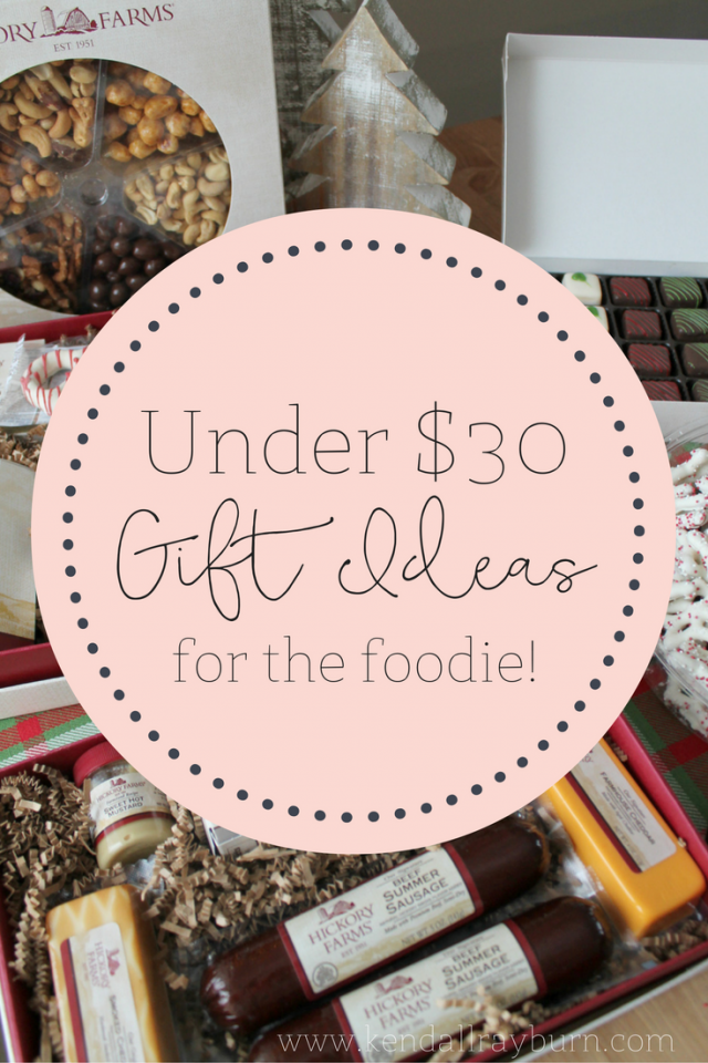 Foodie Gift Ideas Under $30 | Gifts, 30 gifts, Gifts for kids