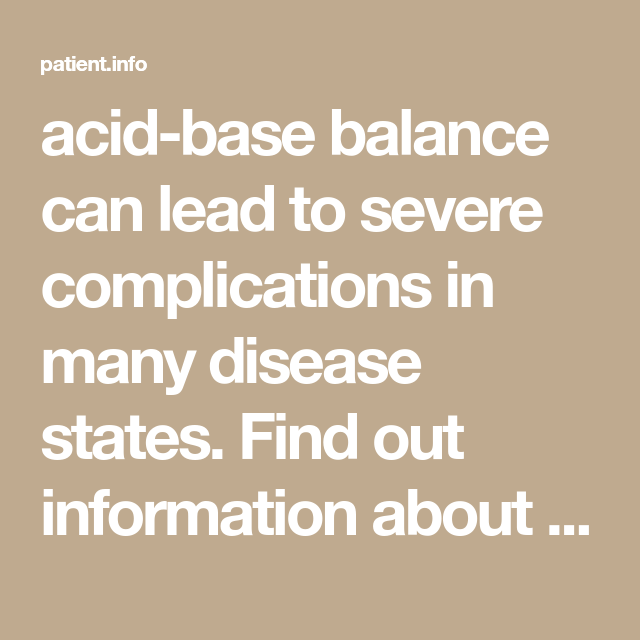 Acid base balance information about homeostasis patient also and health care rh pinterest