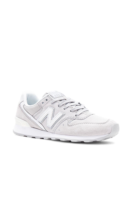 the latest 97e29 59523 New Balance 696 Sneaker in Overcast & Seasalt | REVOLVE ...