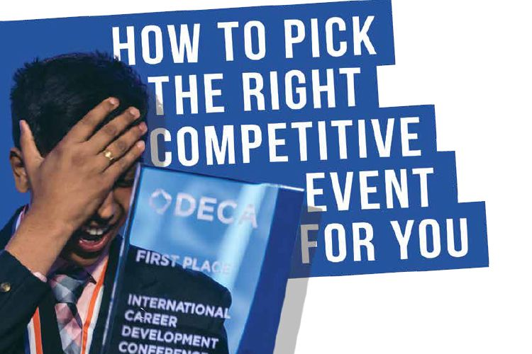 The secret to succeeding in DECA's competitive events is