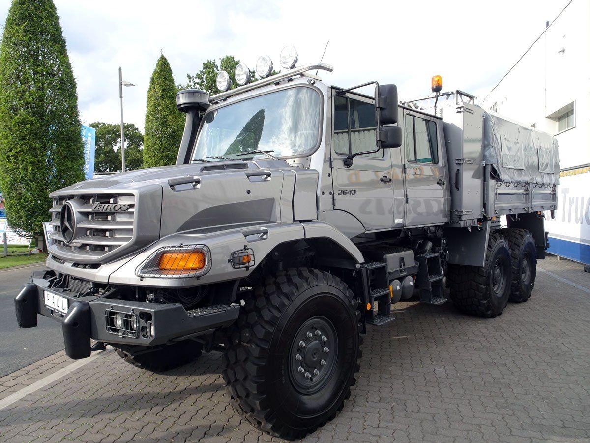 Mercedes Benz Zetros Trucks Mercedes Truck Trucks Mercedes