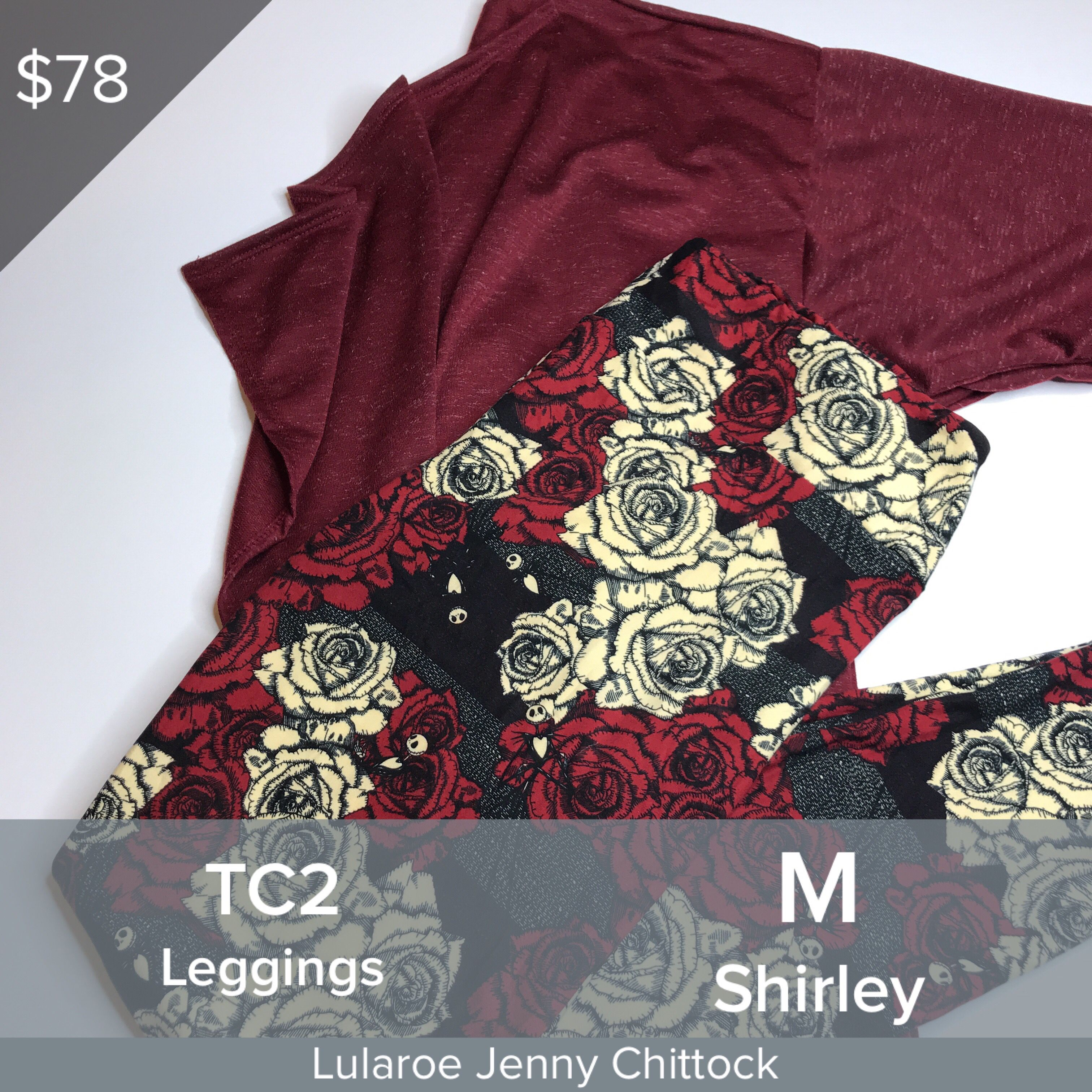 b6aeec697435c4 LuLaRoe jack and sally leggings, paired with a Shirley. Make it a fun  Halloween