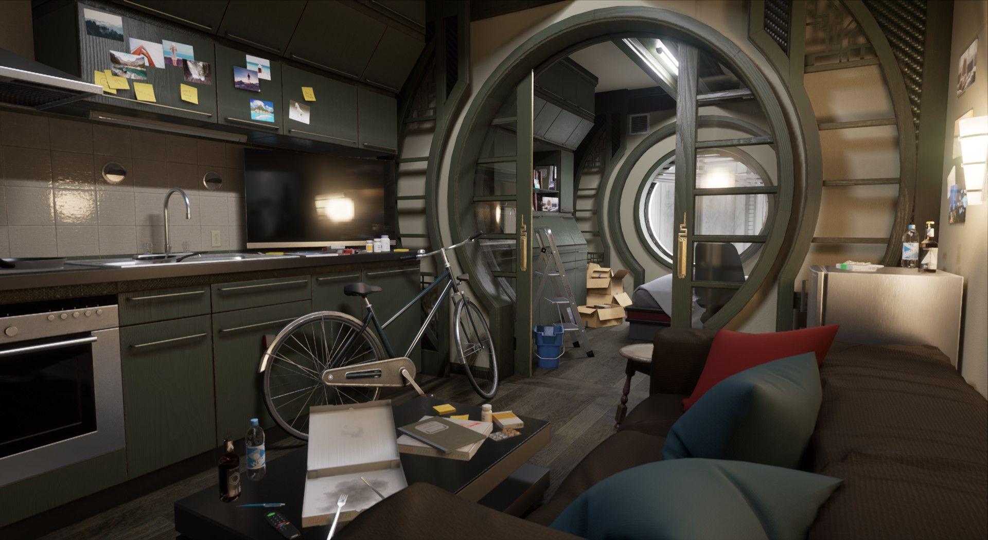 18+ Cozy Apartment Design Cyberpunk - Interiors Magazine