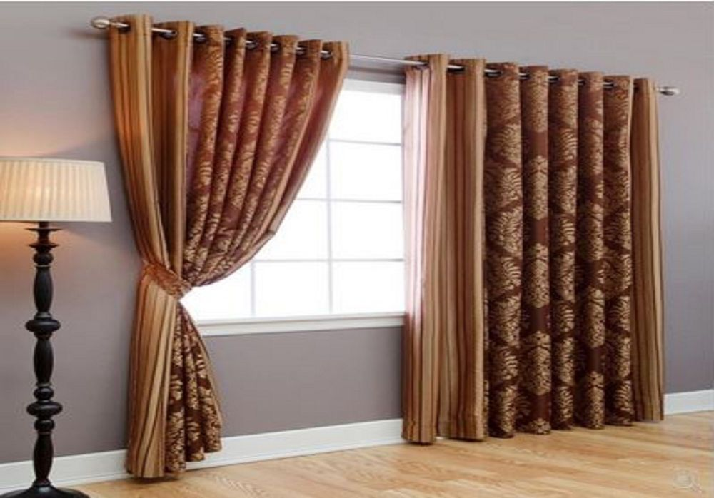 New Wide Width Windows Curtains Treatment Patio Door Grommet Drapes Home  Decor #BestHomeFashion