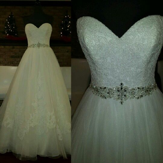 James Clifford Size 6 Ballgown Tulle Ivory