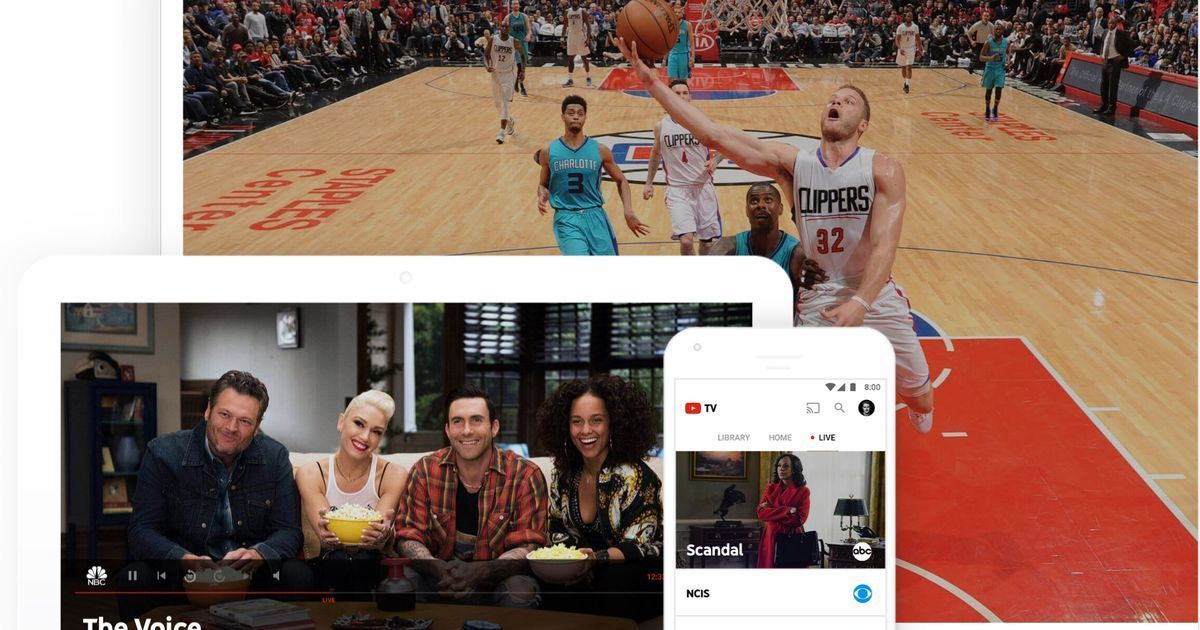 How YouTube TV compares to rivals Sling, PlayStation
