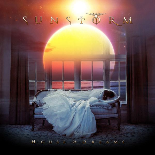 Sunstorm: House Of Dreams (2009) This beautiful artwork from the second album is really astonishing. I love the atmosphere of this dreamscape and the font of the bands name. Come to think of it, this is what inspired me to be an Album Artwork Designer.